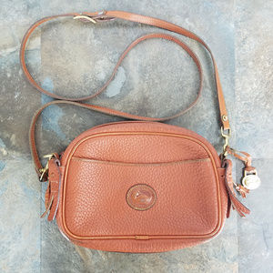 Dooney & Bourke Vintage AWL Brown Crossbody Bag